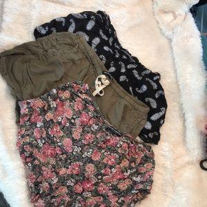 Brandy Melville Shorts (3 pair)